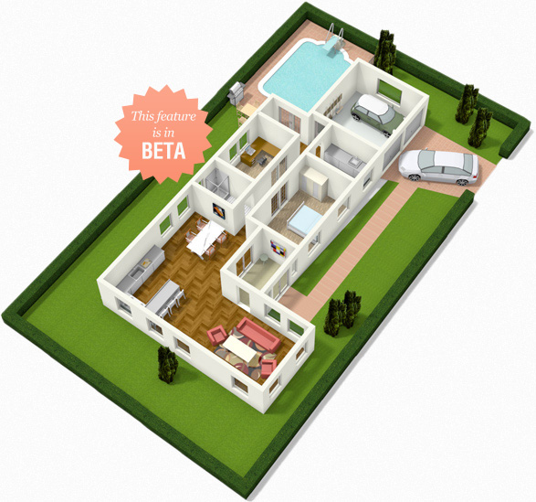 Floorplanner create floor plans house plans and home plans online Plan your house 3d