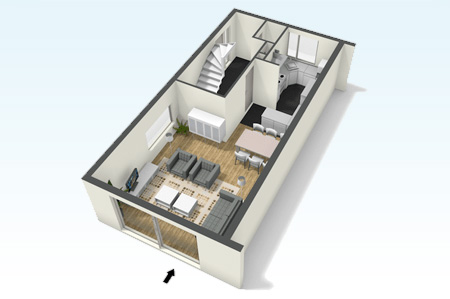 10 aplicaciones gratuitas para hacer planos de casas for Hacer plano vivienda