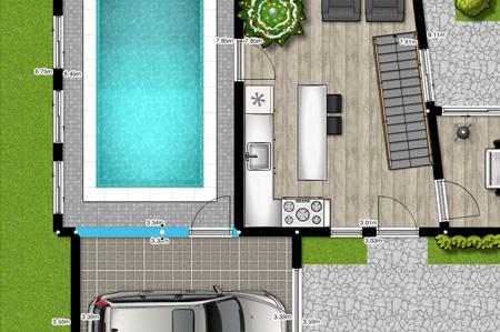 Diseo casas 3d online homebyme crear planos y diseos de for Crear habitacion 3d online