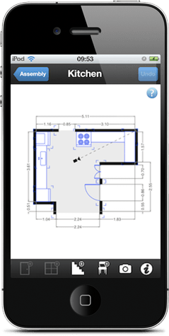 Floorplanner create floor plans house plans and home for Floor plan design app